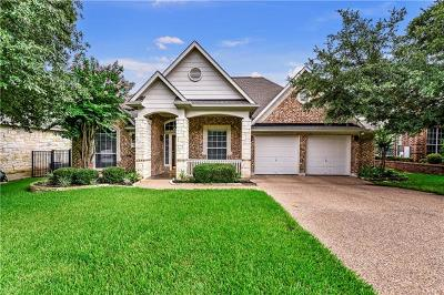 Round Rock Single Family Home Pending - Taking Backups: 1106 Winding Creek