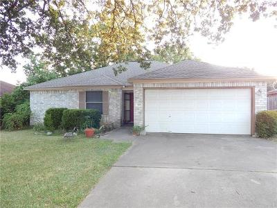 Cedar Park Single Family Home For Sale: 618 Blue Oak Cir