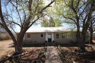 Liberty Hill Single Family Home Pending - Taking Backups: 4701 County Road 200