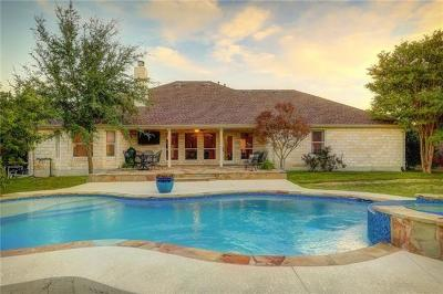 Hays County, Travis County, Williamson County Single Family Home Pending - Taking Backups: 12017 Emerald Oaks Dr