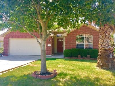 Buda Single Family Home For Sale: 878 Dark Horse Ln