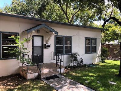 Single Family Home For Sale: 510 E Live Oak St