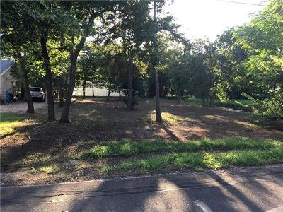 Cedar Park Residential Lots & Land Pending - Taking Backups: 1303 Doris Ln