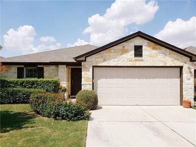 Hutto Single Family Home For Sale: 118 Palestine Cv