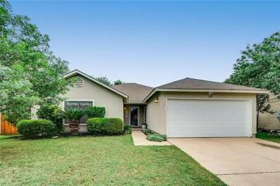 Cedar Park Single Family Home Pending - Taking Backups: 1114 Del Roy Dr