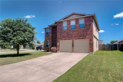 Hutto Single Family Home For Sale: 106 Creek Ledge Dr