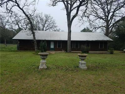 Rosanky Single Family Home For Sale: 2472 Farm To Market 535