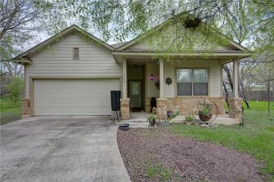Bastrop Single Family Home For Sale: 368 W Keanahalululu Ln