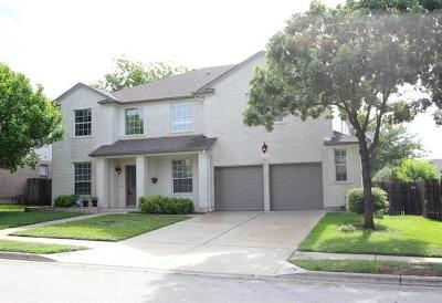Pflugerville Single Family Home For Sale: 208 Settlers Valley Dr