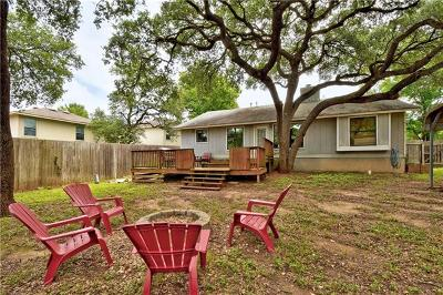 Austin Single Family Home Pending - Taking Backups: 8804 Jesse James Dr