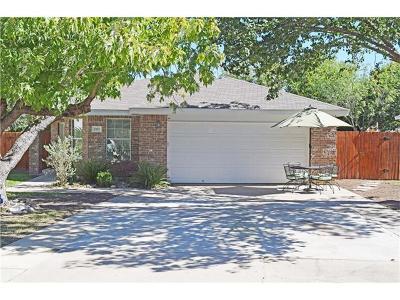 Cedar Park Single Family Home For Sale: 2102 Briar Cv