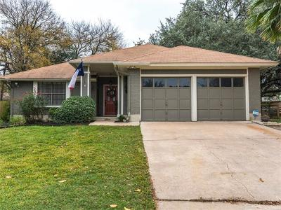 Travis County, Williamson County Single Family Home For Sale: 4313 Charlemagne