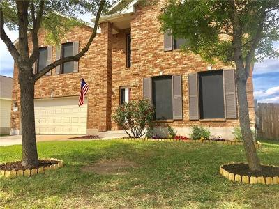 Hutto Single Family Home For Sale: 1304 Knippa Cv