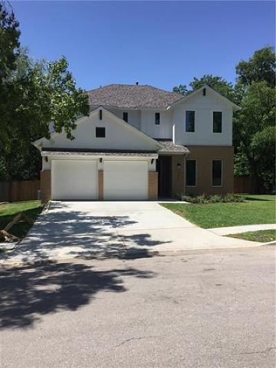 Austin Single Family Home For Sale: 2813 W Fresco Dr