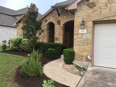 Austin Single Family Home For Sale: 255 Harris Dr