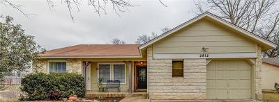 Hays County, Travis County, Williamson County Single Family Home For Sale: 2812 Firecrest Dr