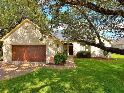Cedar Park Single Family Home Pending - Taking Backups: 108 N Winecup Trl