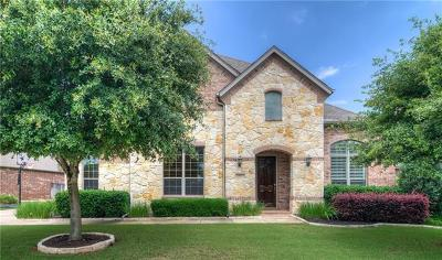 Leander Single Family Home For Sale: 1817 Western Justice