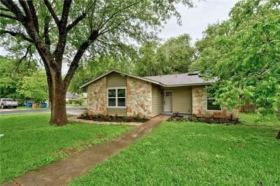 Austin TX Single Family Home For Sale: $384,900