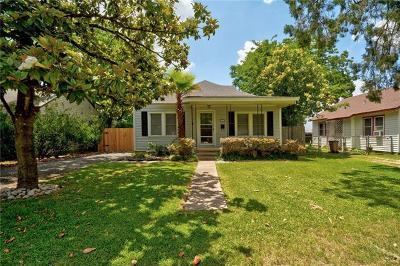 Austin Single Family Home For Sale: 5208 Avenue G #1
