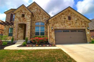 Round Rock Single Family Home For Sale: 2324 Centennial Loop
