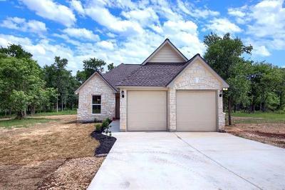 Cedar Creek Single Family Home For Sale: 150 Deep Woods Ct
