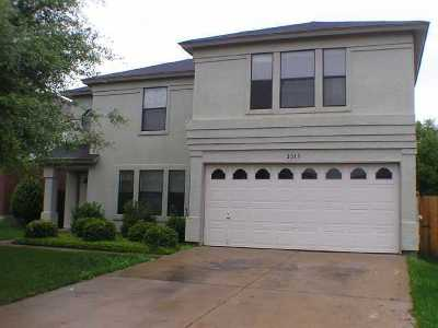 Cedar Park Single Family Home For Sale: 2013 Marysol Trl