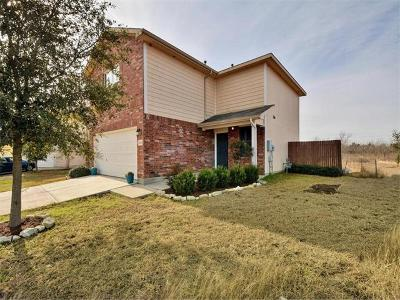 Del Valle Single Family Home Pending - Taking Backups: 11801 Chambers Peak Cv