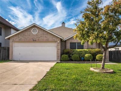 Austin Single Family Home For Sale: 12724 Bartholdi St
