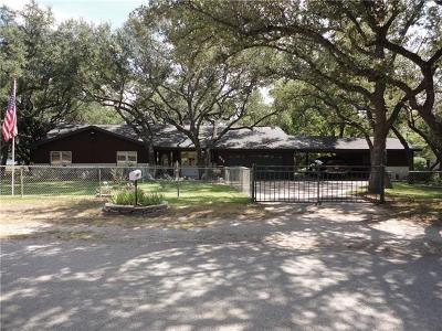 Burnet Single Family Home For Sale: 545 County Road 139