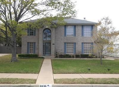 Round Rock Single Family Home For Sale: 8436 Fern Bluff Ave