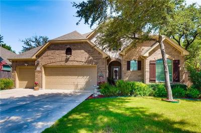 Leander Single Family Home For Sale: 1801 Cross Draw Trl