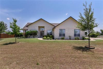 Jarrell Single Family Home For Sale: 116 Oak Stone Dr