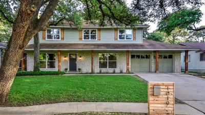 Travis County Single Family Home For Sale: 1019 Hermitage Dr