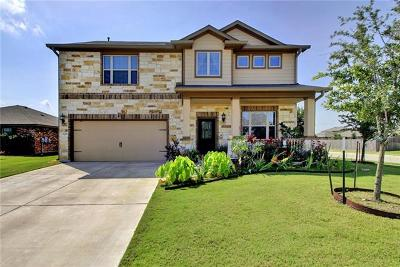 Pflugerville Single Family Home For Sale: 18401 Drecker Springs Ln