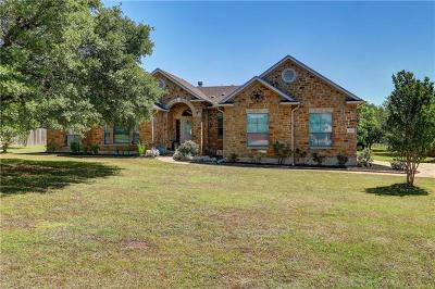 Liberty Hill Single Family Home Pending - Taking Backups: 629 Speed Horse