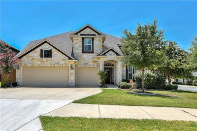 Round Rock TX Single Family Home For Sale: $460,000