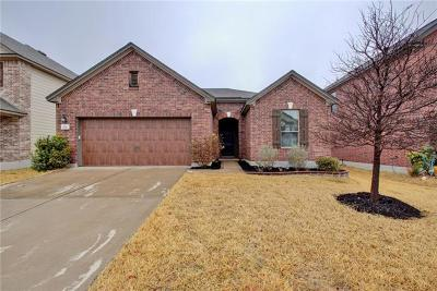 Pflugerville Single Family Home For Sale: 928 Oatmeal Dr