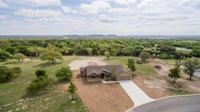 Burnet County Single Family Home For Sale: 105 Honey Rock Blvd