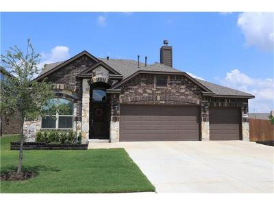 Pflugerville Single Family Home For Sale: 3224 Honey Peach Way