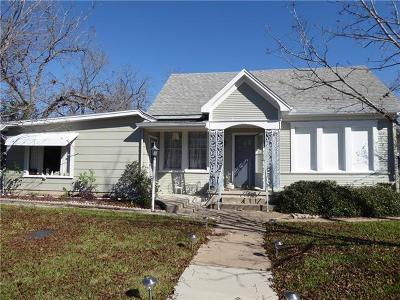 Taylor Single Family Home For Sale: 1402 Sloan St