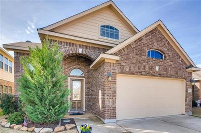 Leander Single Family Home For Sale: 181 Eagle Owl Loop