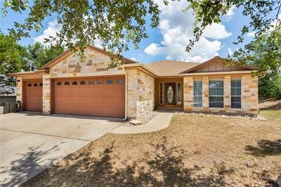 Lago Vista Single Family Home For Sale: 20010 Lee Ln