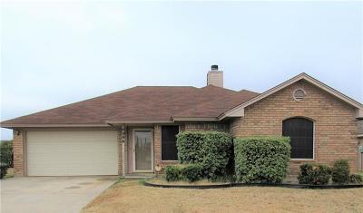 Killeen Single Family Home For Sale: 4006 Riverrock Dr