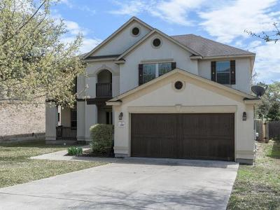 Cedar Park Single Family Home For Sale: 2410 McKendrick Dr
