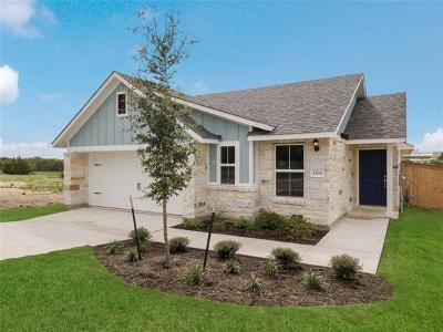 Leander Single Family Home For Sale: 1308 Low Branch Ln