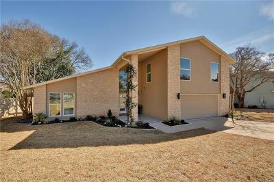 Travis County Single Family Home For Sale: 1905 Big Canyon Dr