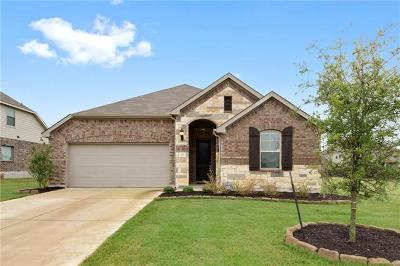 Hutto Single Family Home For Sale: 717 N Emory Cv