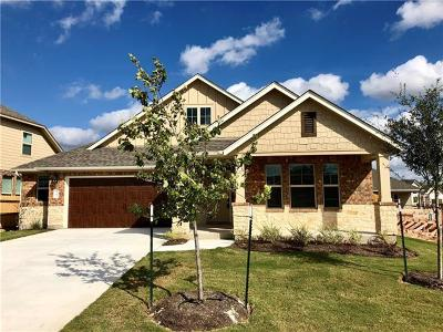 Hutto TX Single Family Home For Sale: $302,750