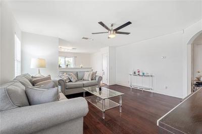 Manor Single Family Home For Sale: 16708 Hamilton Point Cir